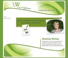 BombSite Customers : Lesley Wilkinson Business Writer